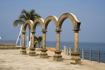 Los Arcos arches in Puerto Vallarta, Mexico Фото со стока