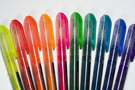 Set van kleurrijke highlighters Stockfoto - 427090