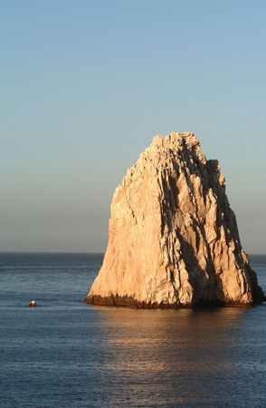 lucas: Lands End, rock formation in Cabo San Lucas Mexico Stock Photo