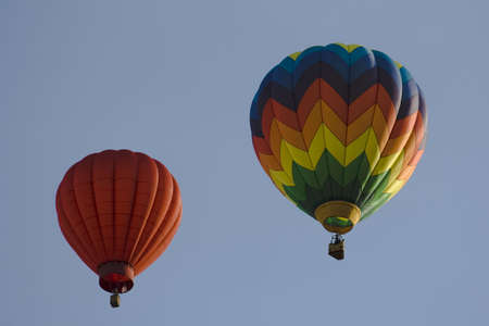 Hot air balloons at Provo Freedom Festival held July 2006