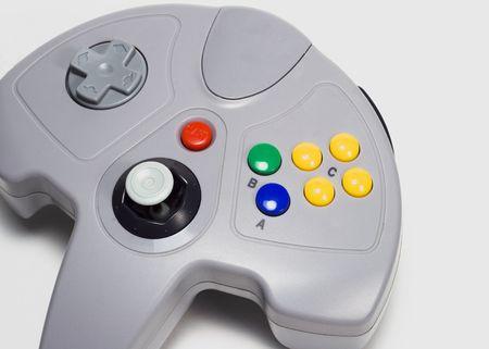 Video game controller. Stock Photo - 535027