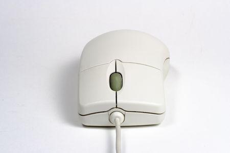 White computer mouse Banco de Imagens