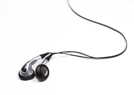 Ear bud headphones for music player