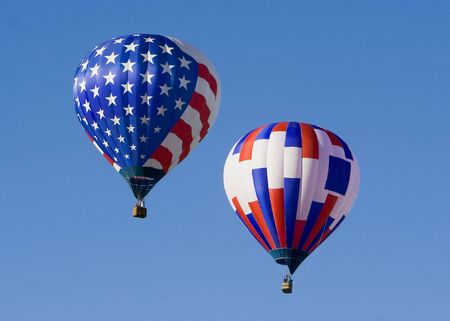 Hot air balloons at Provo Freedom Festival held July 2007 photo