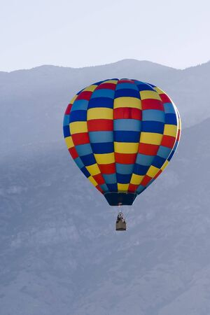 unrestricted: Hot air balloons at Provo Freedom Festival held July 2007 Stock Photo