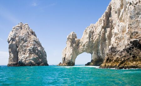 lucas: Lands End rock formations at the very end of the Baja peninsula near Cabo San Lucas, Mexico