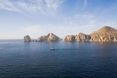 Lands End rock formations at the very end of the Baja peninsula near Cabo San Lucas, Mexico photo
