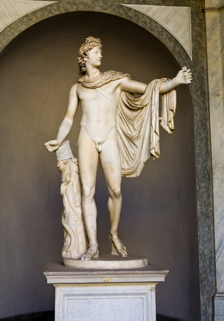 ciudad del vaticano: Estatua; talla; arte; ilustraci�n; Ciudad del Vaticano; Museo; edad; antigua; hist�rico; famoso; Griego; mitolog�a
