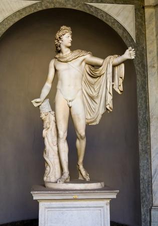 standbeeld; Carving; kunst; illustratie; Vaticaanstad; Museum; oude; oude; historische; beroemde; Grieks; mythologie