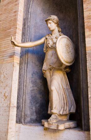 Griekse godin standbeeld