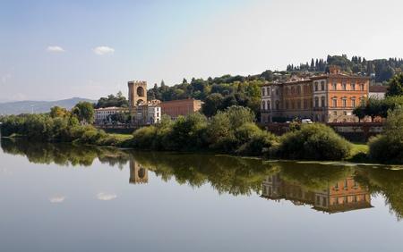 arno: Arno River Florence Italy