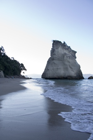 Coromandel Cove near Hahei on the Coromandel  peninsula in New Zealand