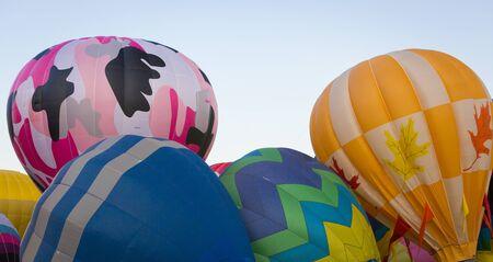 熱気球の目覚め