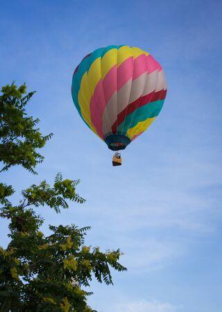 diagonal stripes: Diagonal Stripes Hot Air Balloon