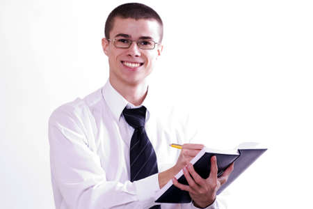 young fellow on a seminar photo