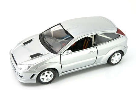 mb: Sport car model isolated over white background Stock Photo