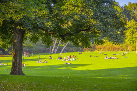 fun in the sun: Cologne, relax on the grass