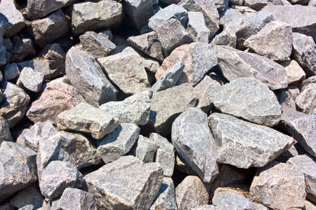 Granite stones as a backdrop Stock Photo