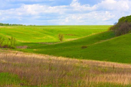 Country landscape view for background Stock Photo - 5123820