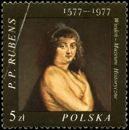 POLAND - CIRCA 1977: A Stamp shows the painting of Rubens, circa 1977 Stock Photo - 7242302