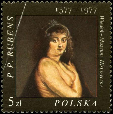 POLAND - CIRCA 1977: A Stamp shows the painting of Rubens, circa 1977 Stock Photo - 7242302