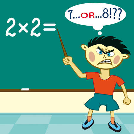 multiplication: The pupil must solve a real grand challenge