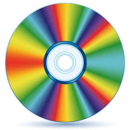 Compact disc - blend e sfumatura solo