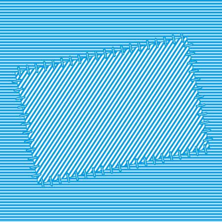 enten: Abstracte textiel patch voor diverse ontwerpen