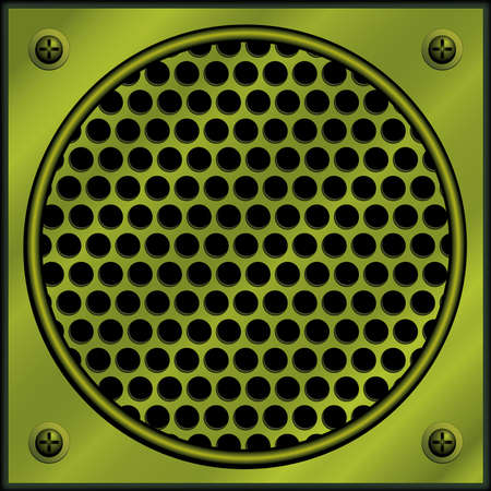 aperture grid: Metal plate with holes
