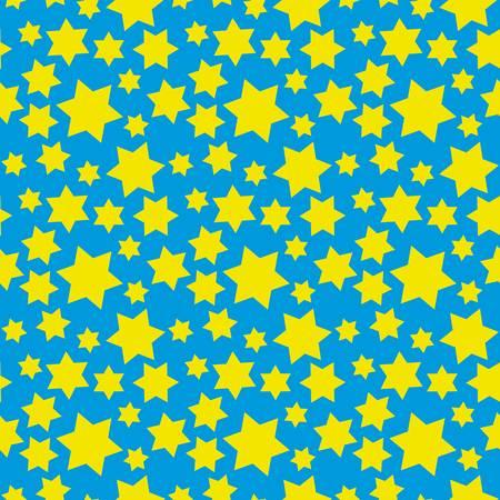 judaic: Hexagram seamless pattern for vector design