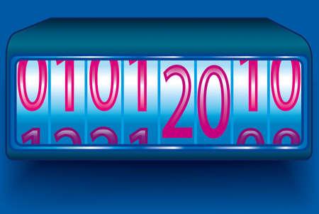 New Year's Eve on the calendar Stock Photo - 8853887