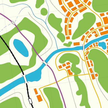 Illustration of a generic roadmap