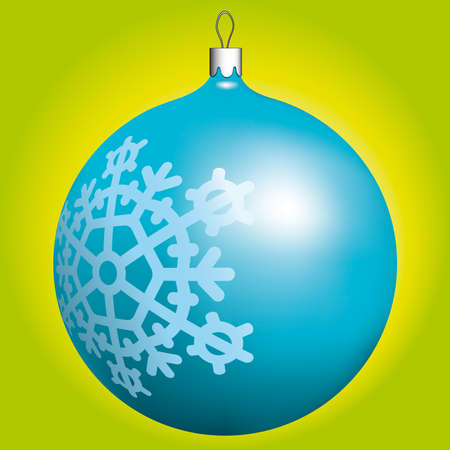 Christmas ball for design Vector