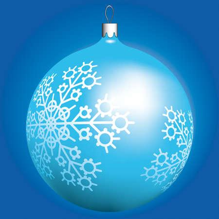 Christmas ball for winter design Stock Vector - 13028619