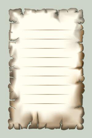 burnt paper: Burnt paper for design