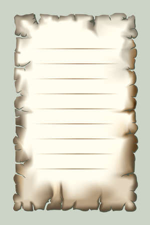 Burnt paper for design Vector