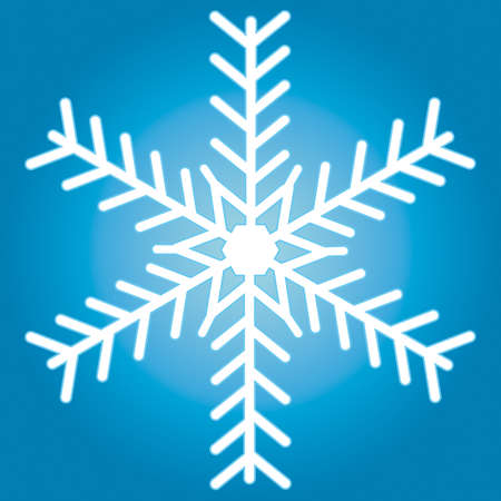 Snowflake for vector design Stock Vector - 13076125