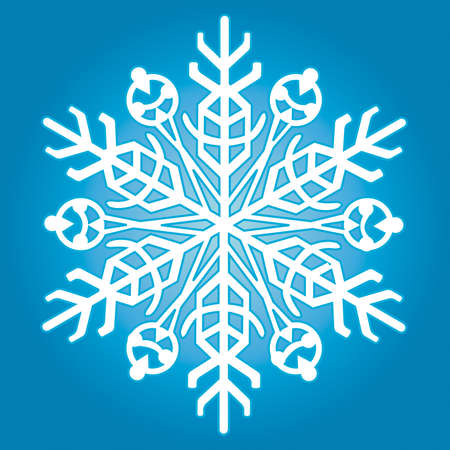 The snowflake for vector design Stock Vector - 13076154
