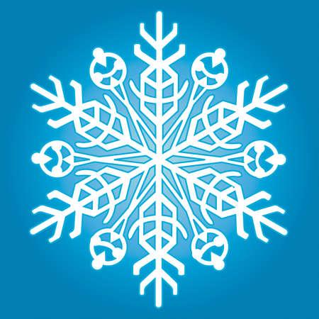 The snowflake for vector design Stock Vector - 13076154