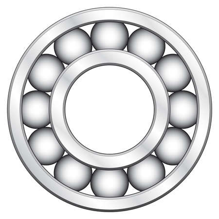 Ball bearing for various designs Vector
