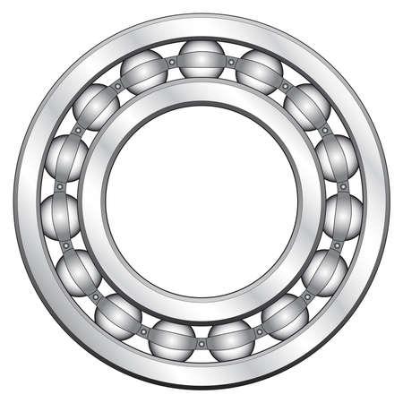 Ball bearing for various designs Vector
