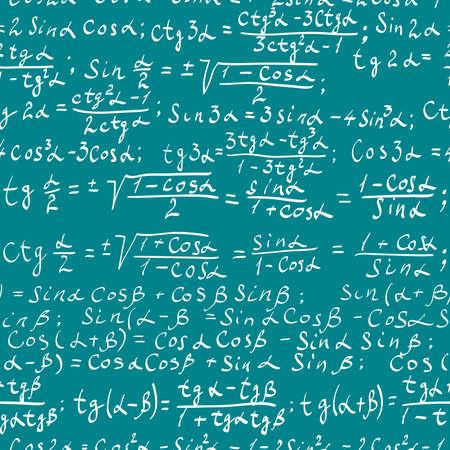 三角関数の数式のシームレスなパターン