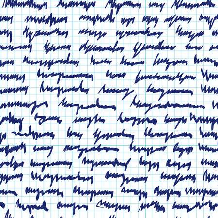 scrawl: Seamless pattern di scarabocchi astratti Vettoriali