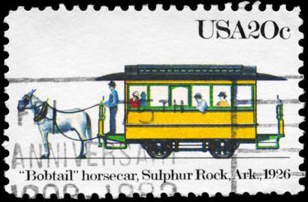 USA - CIRCA 1983: A Stamp printed in USA shows the