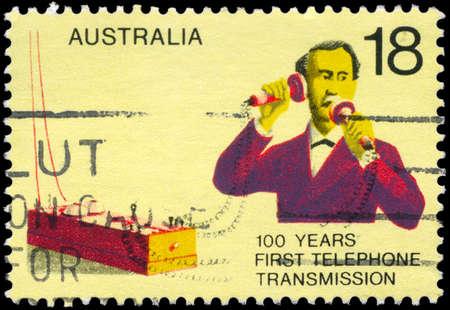 AUSTRALIA - CIRCA 1976: A Stamp printed in AUSTRALIA shows the