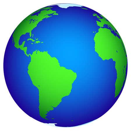 Illustration of the Globe for various design. Stock Vector - 19615273