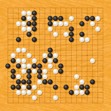 strategical: Playing position of the Go game