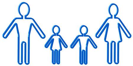demografia: Icono de diseño diferentes personas Vectores