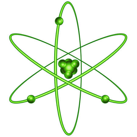 synthesis: Atom icon for various design