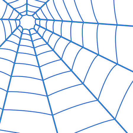 gridiron: Illustration of the spider web